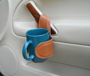 Our Adjustable Cup Holder can fit drinks of many sizes
